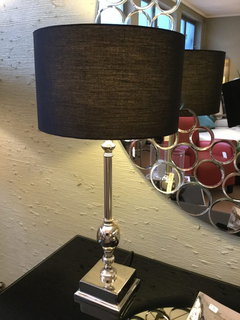 Lampe silber